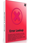 Error Lookup 2.4 + Portable (x86-x64) (2021) (Multi/Rus)