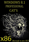 Windows 8.1 Professional CAT'S (mini) by novik (x86) (03.2018) {Rus}