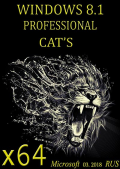 Windows 8.1 Professional CAT'S (mini) by novik (x64) (03.2018) {Rus}