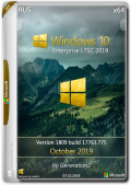 Windows 10 Enterprise LTSC 17763.775 Oct2019 by Generation2 (x64) (2019) {Rus}